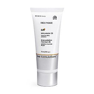 MD Formulations total protector spf 30