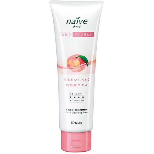 Kanebo Naive Makeup Cleansing Foam Peach