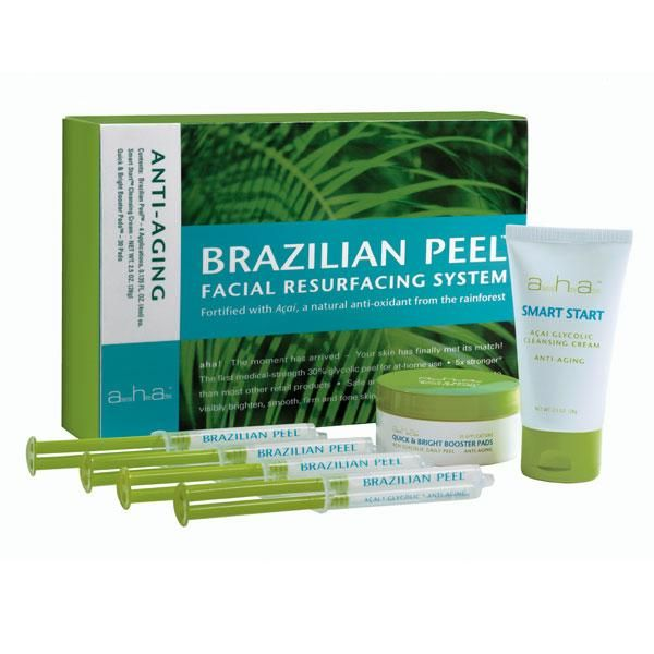 Advanced Home Actives - Brazilian Peel Facial Resurfacing System