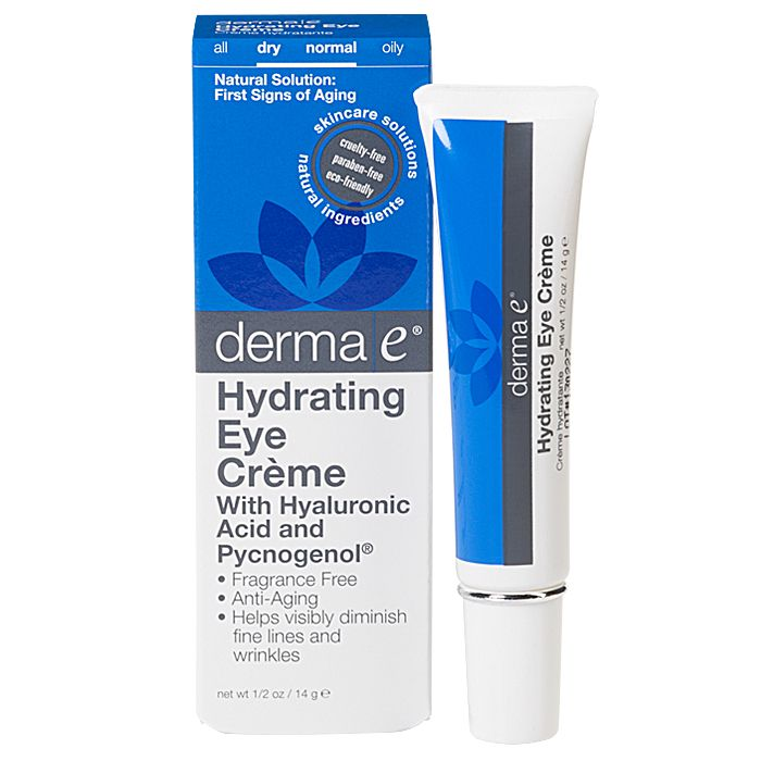 Hydrating Eye Crème with Hyaluronic Acid and Pycnogenol