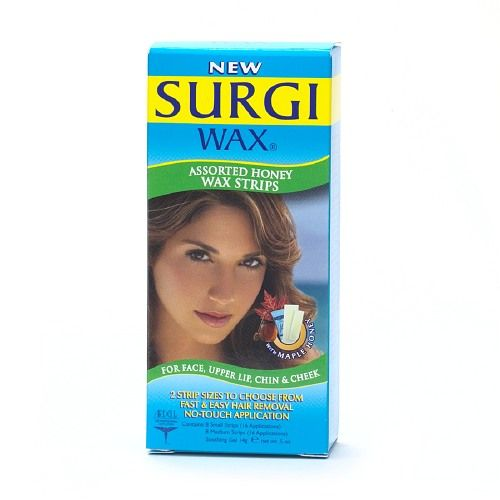 Surgi Wax Hair Removal Strips Reviews Photos Ingredients