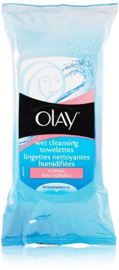 Olay Wet Cleansing Cloths - normal