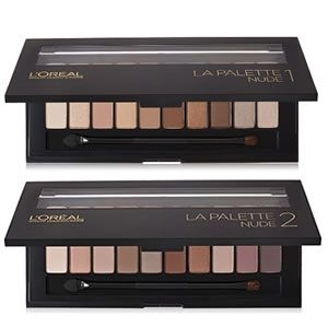 L'Oreal Paris La Palette Nude 1 and Nude 2