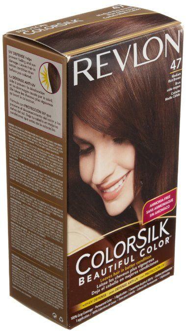 Rich Medium Brown Hair Color