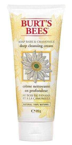 Burt's Bees Deep Cleansing Cream with Soap Bark and Chamomile