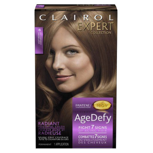 Clairol Expert Age Defy Light Brown #6
