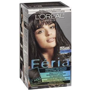 L'Oreal Feria Midnight Collection - Natural Soft Black M33
