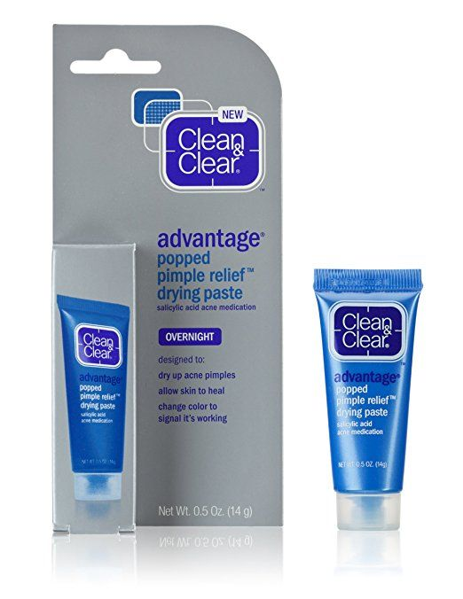 Clean & Clear Advantage Popped Pimple Relief Drying Paste [DISCONTINUED]