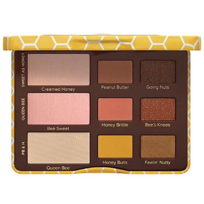Peanut Butter and Honey Eye Shadow Palette