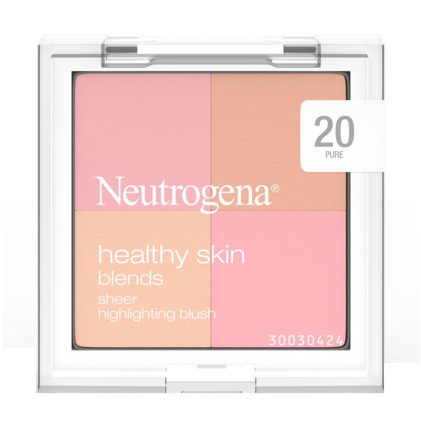 Healthy Skin Blends Sheer Highlighting Blush