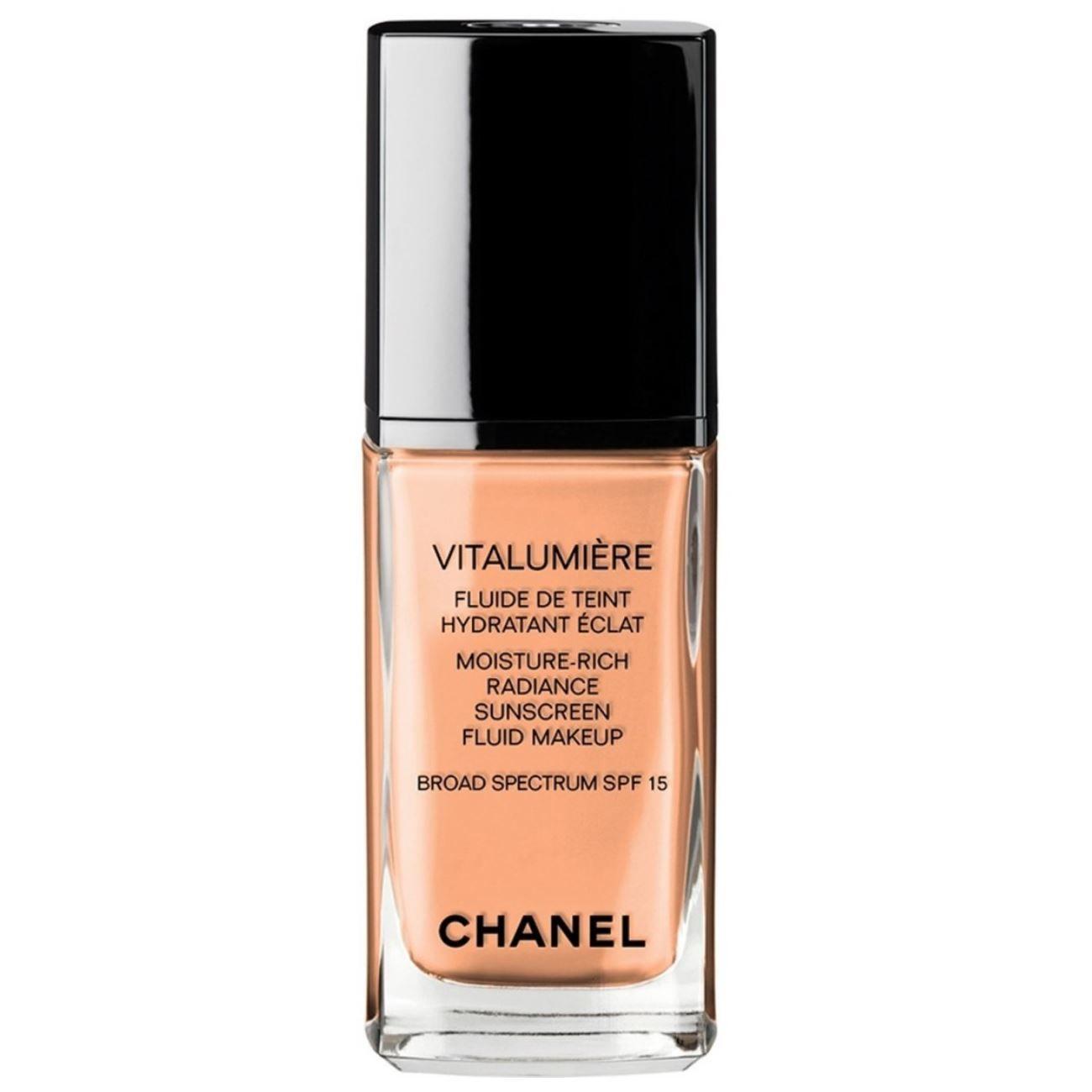 Vitalumiere Moisture-Rich Radiance Sunscreen Fluid Makeup SPF 15