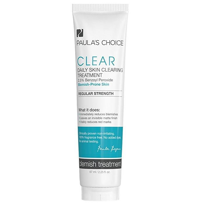 Paula's Choice CLEAR Regular Strength Daily Skin Clearing Treatment with 2.5% Benzoyl Peroxide reviews, photos, ingredients Sorted by Rating Lowest first - ...