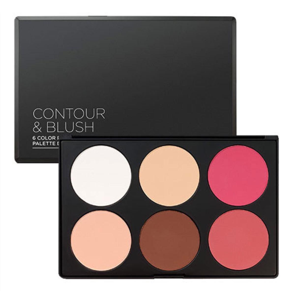 Contour & Blush 6-Color Palette