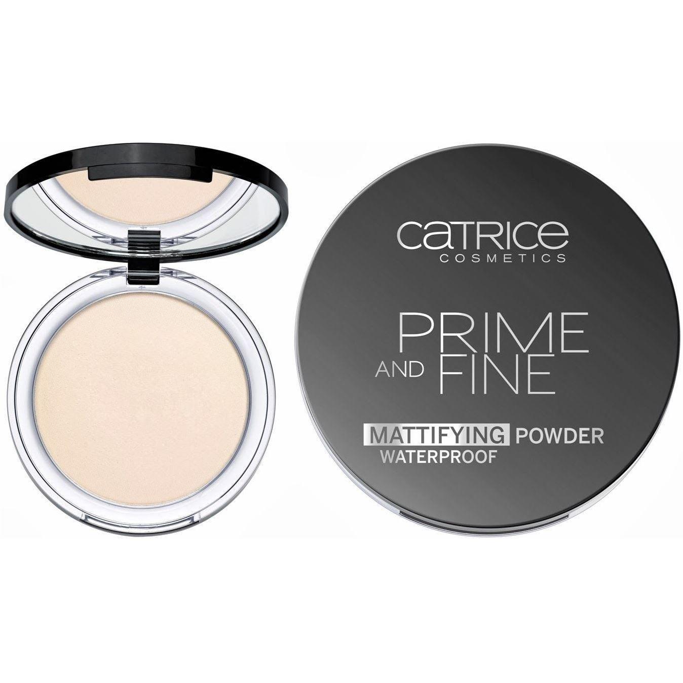 Prime And Fine Mattifying Powder Waterproof