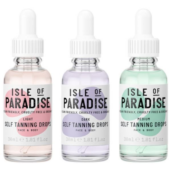 isle of paradise tanning drops