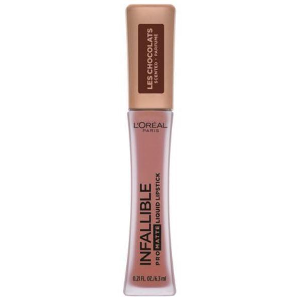 Infallible Pro Matte Les Chocolats Scented Liquid Lipstick - Dose Of Cocoa