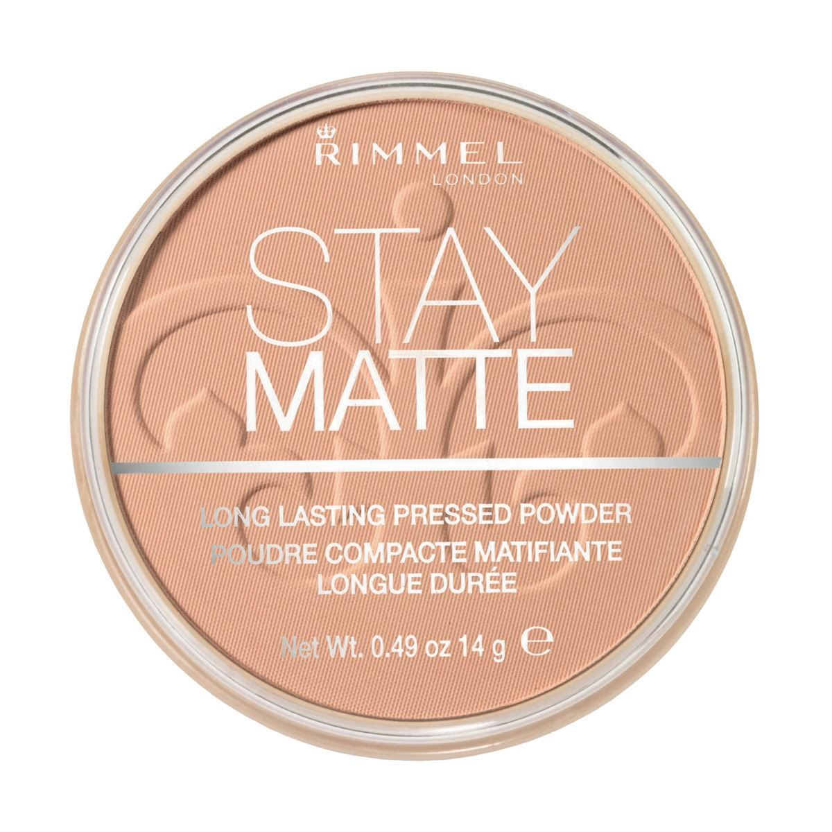 Stay Matte Long Lasting Pressed Powder - Peach Glow
