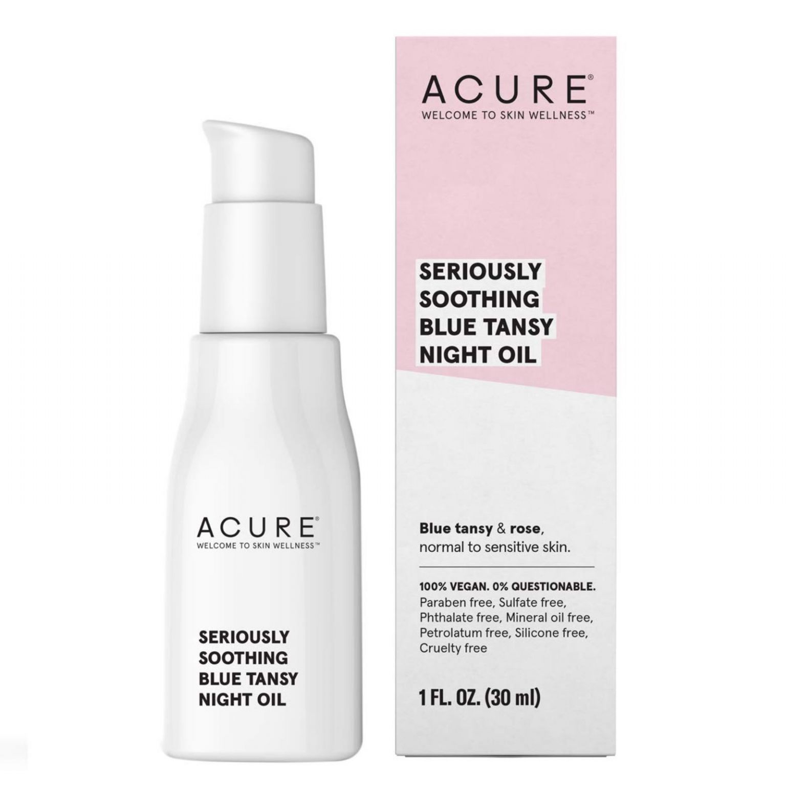 Acure Organics Seriously Soothing Blue Tansy Night Oil