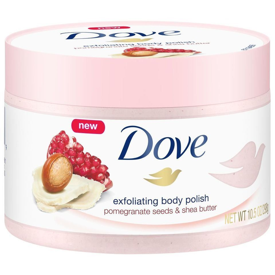 Dove Exfoliating Body Polish Pomegranate Seeds Shea Butter Reviews Photos Ingredients Makeupalley