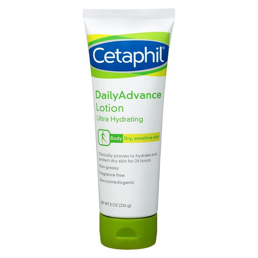 Cetaphil Daily Advance Ultra Hydrating Body Lotion For Dry Sensitive Skin Reviews Photos Ingredients Makeupalley