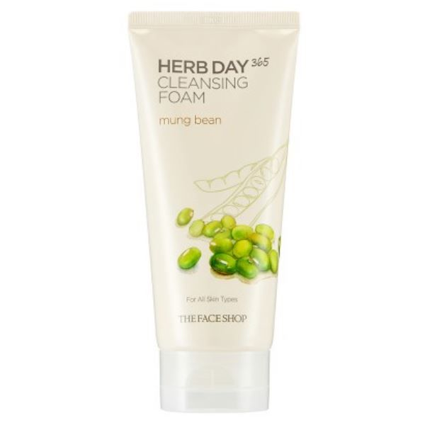 Herb Day 365 Cleansing Foam- Mung Beans