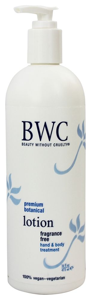 Beauty Without Cruelty Botanical Formula Hand and Body Lotion - Fragrance Free