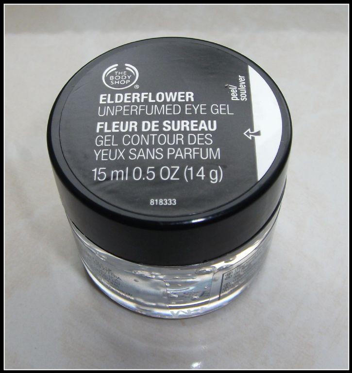 Body Shop Drop Of Light Eye Cream Review: The Body Shop Fragrance-Free Elderflower Eye Gel Reviews