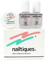 Nailtiques After Artificial Nail Treatment