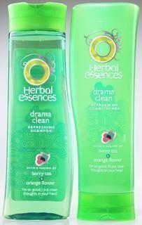 Clairol Herbal Essences Drama Clean refreshing conditioner