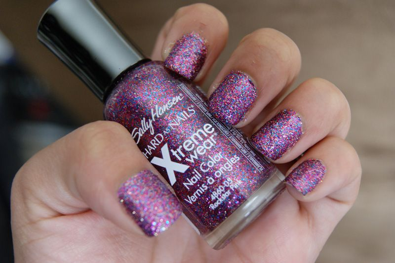 Sally Hansen Hard As Nails Xtreme Wear in Rockstar Pink reviews ...