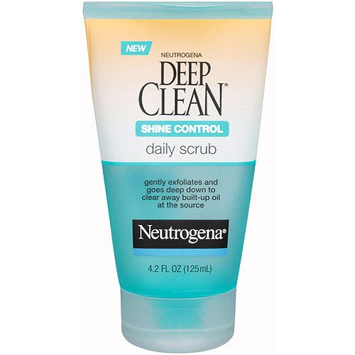 Neutrogena Deep Clean Long-Last Shine Control Daily Scrub