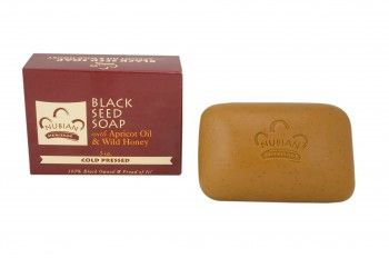 Nubian Heritage Black Seed Soap With Apricot Oil and Wild Honey
