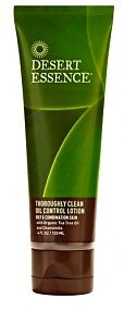 Desert Essence Thoroughly Clean Oil Control Lotion