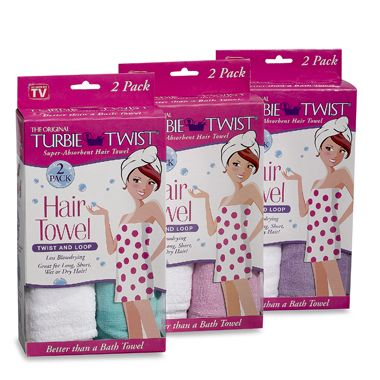 Turbie Twist Microfiber Hair Towel