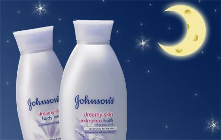 Johnson & Johnson Dreamy Skin Body Lotion