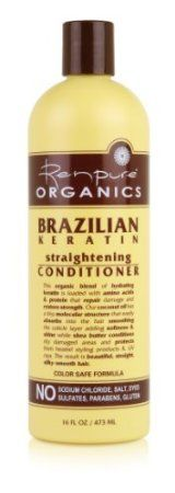 Renpure Originals Brazilian Keratin Straightening Conditioner