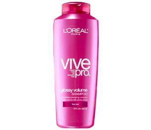 L'Oreal Vive Pro Glossy Volume Shampoo