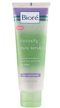 Biore detoxify daily scrub