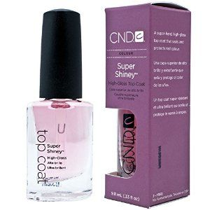 Creative Nail Design Super Shiney High Gloss Top Coat