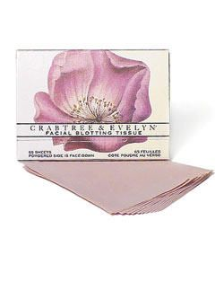 Crabtree & Evelyn Rose Blotting Papers