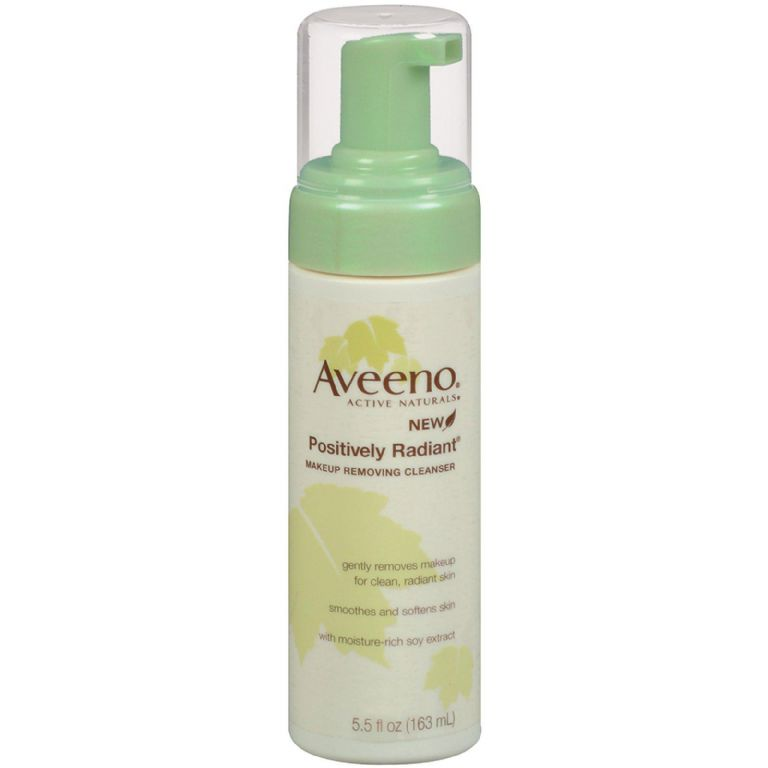 Aveeno Positively Radiant Makeup Removing Cleanser
