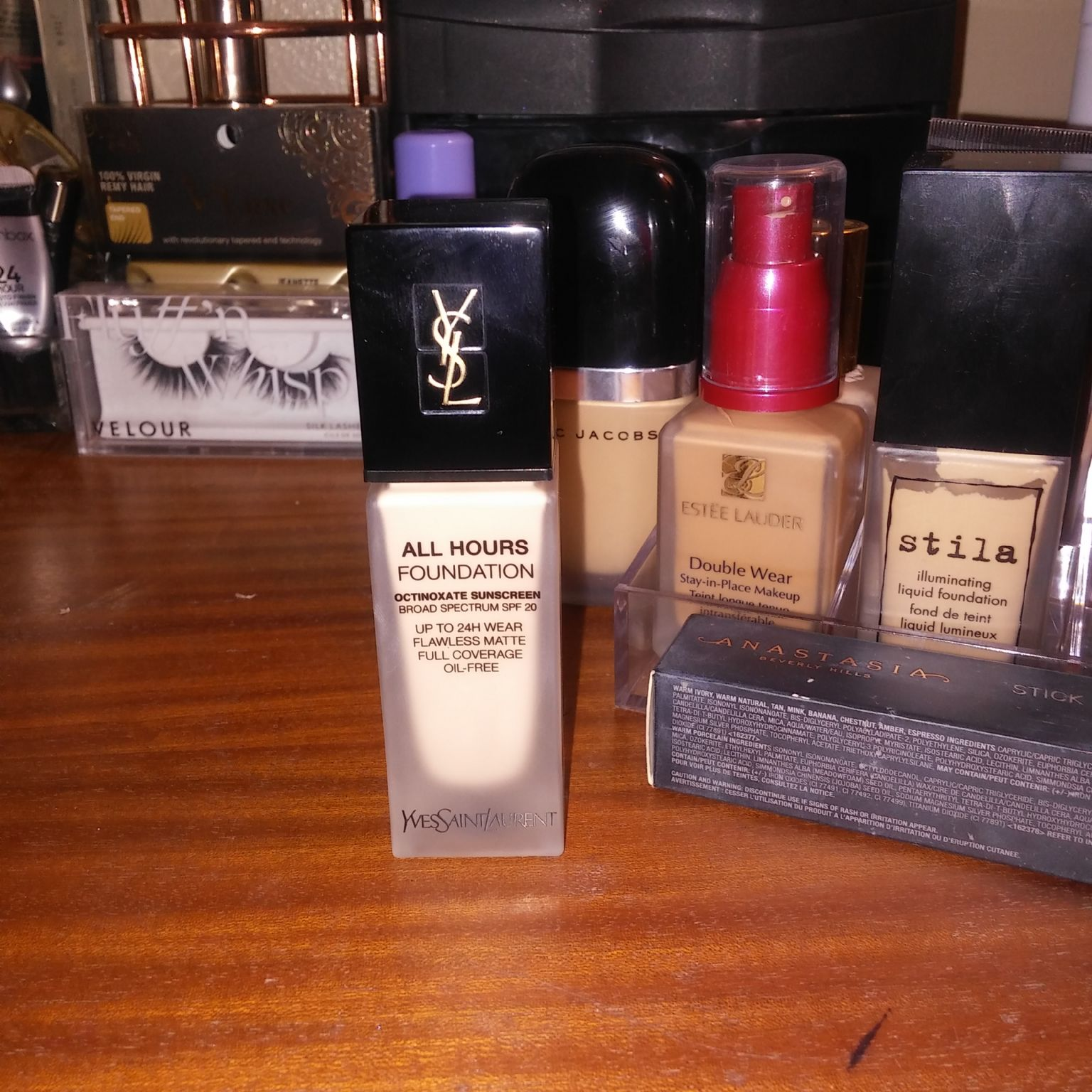Yves Saint Laurent All Hours Full Coverage Matte Foundation Reviews Photos Ingredients Makeupalley