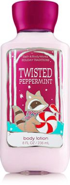 Bath and Body Works Temptations Twisted Peppermint body lotion