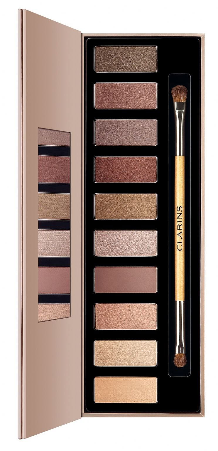 CLARINS The Essentials Eye Shadow Palette Reviews, Photo