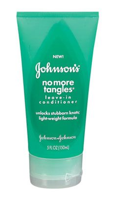 Johnson & Johnson Johnson's No More Tangles Leave-In Conditioner