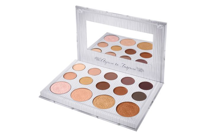 205726630864b BH Cosmetics Carli Bybel Eyeshadow & Highlighter Palette reviews ...