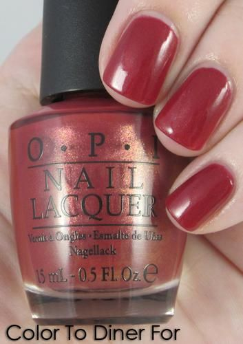 Opi Color To Diner For Reviews Photo Makeupalley