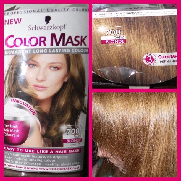 Schwarzkopf Color Mask In Dark Blonde 700 Reviews Photo  Makeupalley