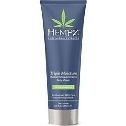 Supre Hempz Triple Moisture Herbal Whipped Creme Body Wash