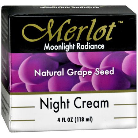 Merlot Moonlight Radiance Natural Grape Seed Night Cream